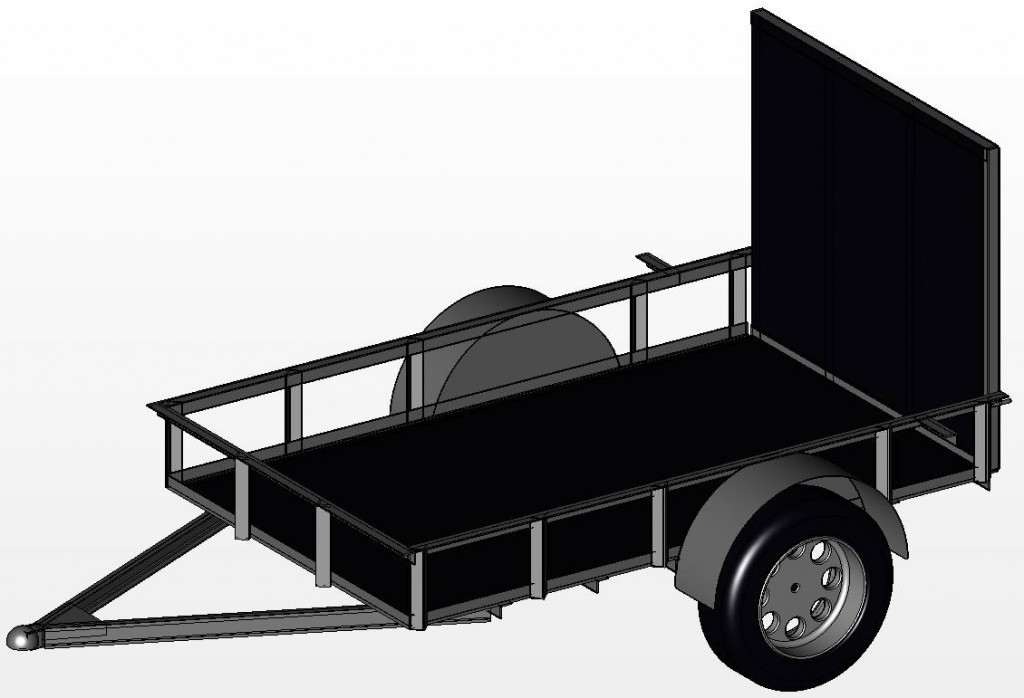 Perfect 3 Plans For Three Trailers 8x18 7x14 And 5x10 Utility